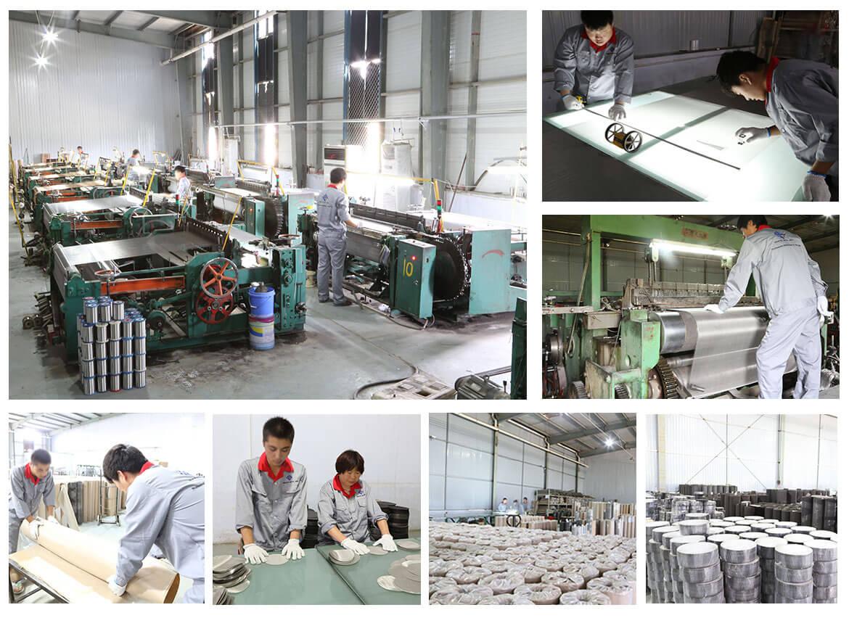fábrica de malla de alambre