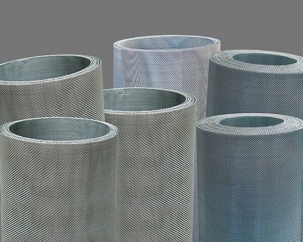 Malla metálica de acero inoxidable de tejido asargado y liso