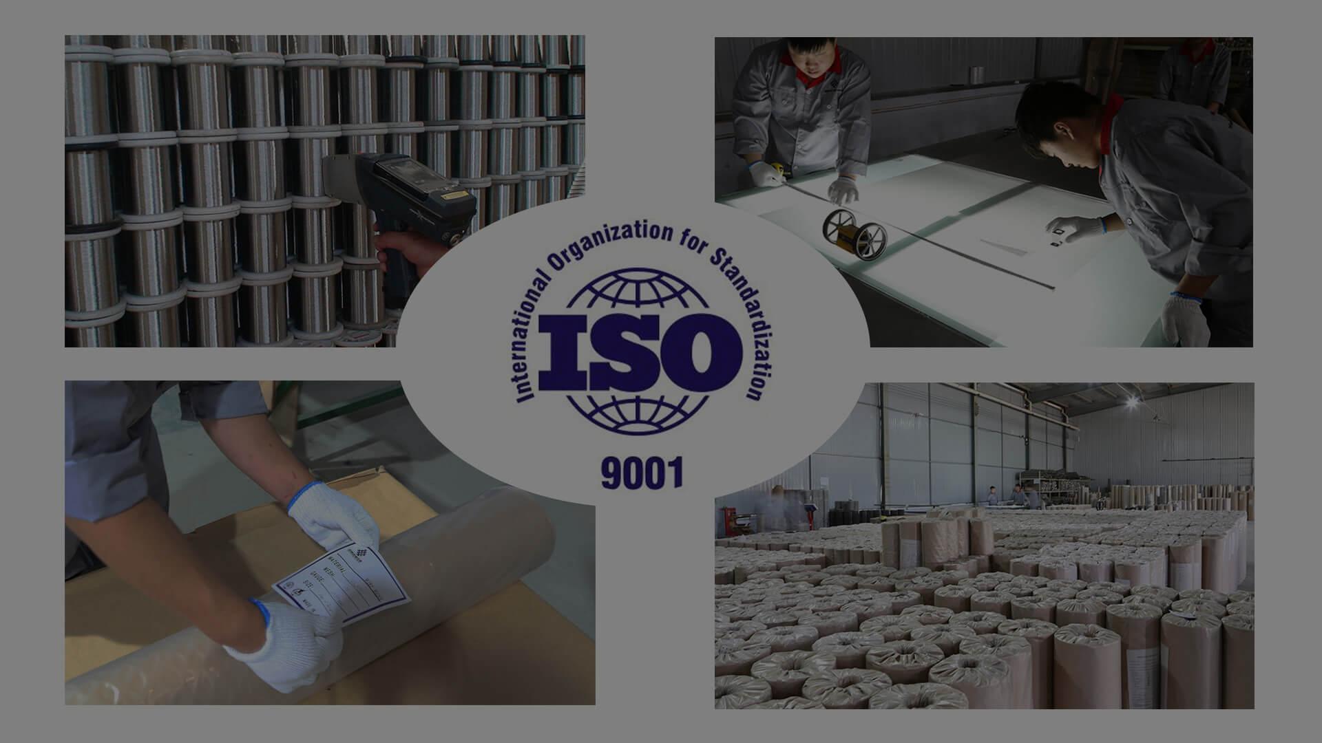 el control de calidad de malla de alambre